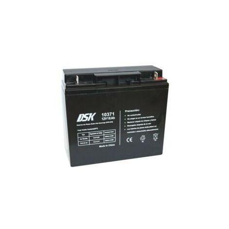 Batterie au plomb 12v 18ah Ups/sai 181x76x167mm Dsk 10371