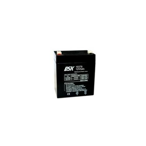 Batterie au plomb 12v 5ah Ups/sai Mesures 90x70x105mm Dsk 10378