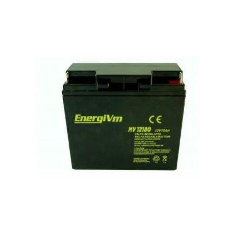 Batterie au plomb AGM 12V/18Ah 181x77x167mm ENERGIVM
