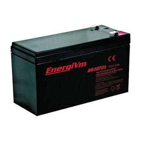 Batterie au plomb AGM 12V/7Ah 151x65x101mm ECO