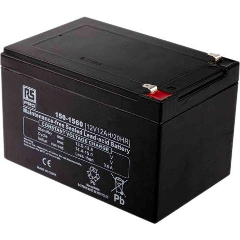 Batterie au plomb RS PRO 12Ah, 12V