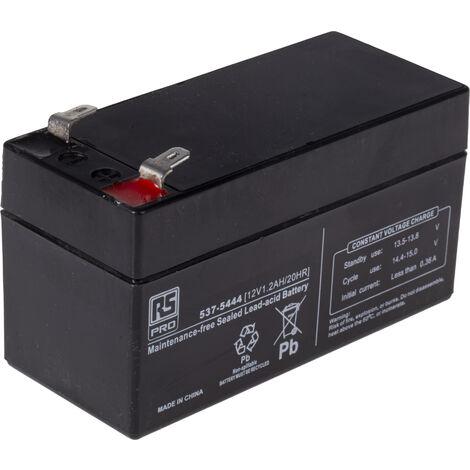 Batterie au plomb RS PRO 1.2Ah, 12V