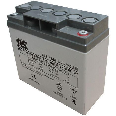 Batterie au plomb RS PRO 17Ah, 12V