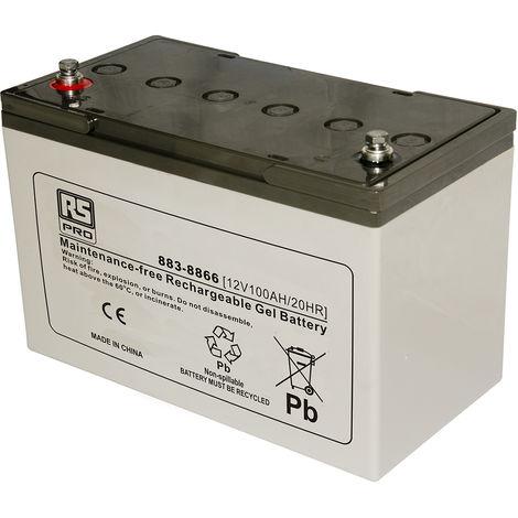 Batterie au plomb RS PRO 4Ah, 6V