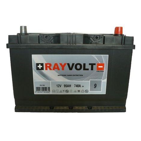 BATTERIE AUTO RAYVOLT RV36 95AH 740A