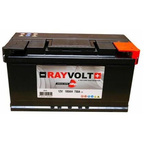 "main image of ""Batterie auto RAYVOLT RV5 90AH 720A"""