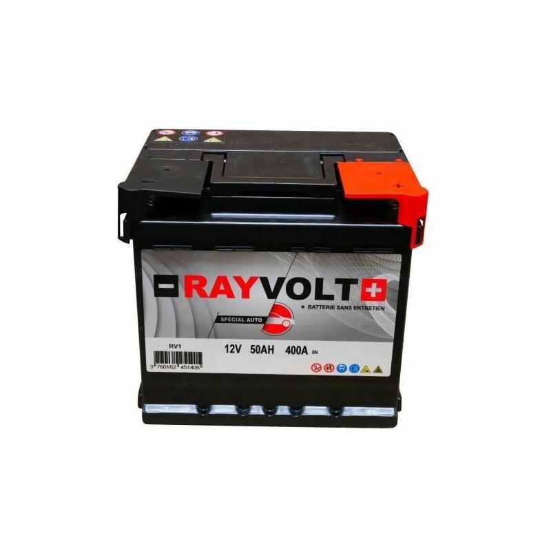 Batterie auto RV1 50AH 400A - Rayvolt