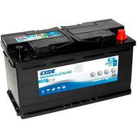 Batterie bateau EXIDE Dual AGM EP800 (800Wh) 12V 95Ah Auto