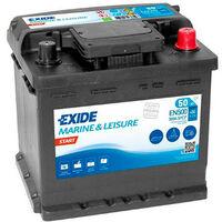 Batterie bateau EXIDE MARINE Start EN500 12V 50Ah