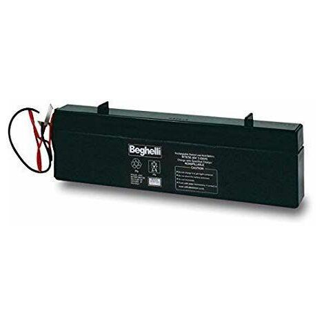 Batterie Beghelli PB 6V 4Ah SLIM 8800