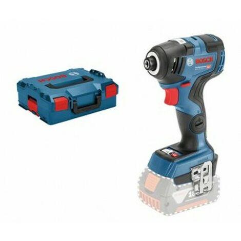 Batterie Bosch GDR 18 V-200 C SOLO Li-Ion 18 V Corps du tournevis à choc en L-Boxx - 160 Nm