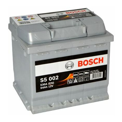 Batterie Bosch S5 002 12v 54ah 530A 554 400 053