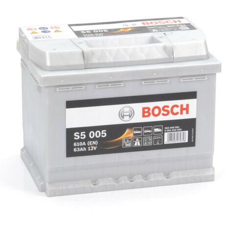 Batterie Bosch S5 005 12v 63ah 610A 563 400 061