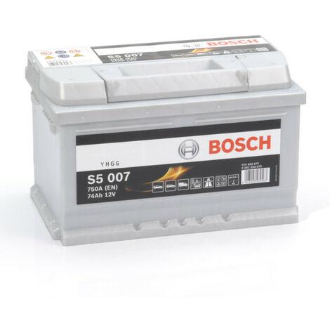 Batterie Bosch S5 007 12v 74ah 610A 563 400 061