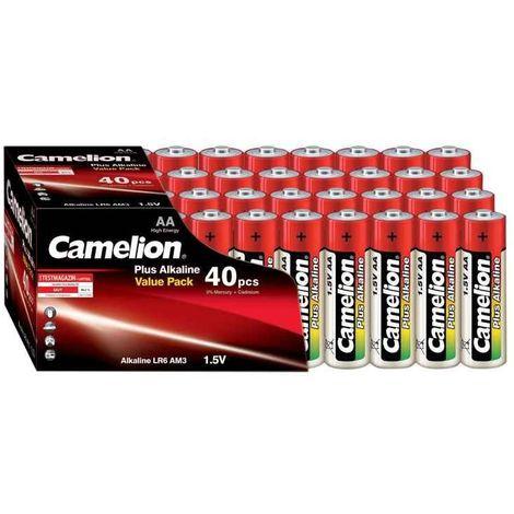 Batterie Camelion Alkaline LR6 Mignon AA (40 St. Value Pack)