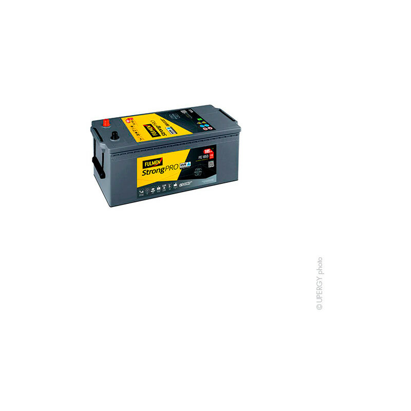 Fulmen - Batterie camion FULMEN Strong Pro HVR FE1853 12V 185Ah 1100A