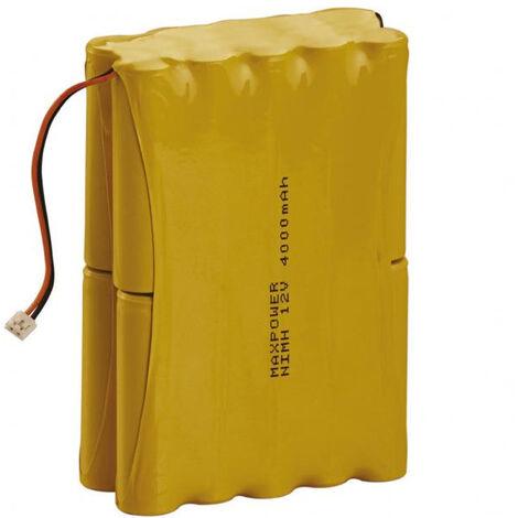 Batterie Centrale 7.6Ah 12V alarme Hager BATNIMH8