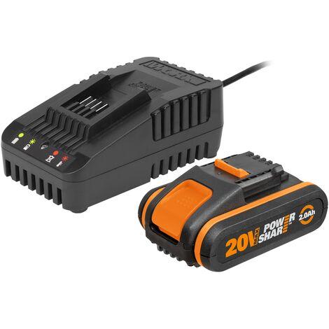 Batterie + chargeur batterie Worx ?WA3601'