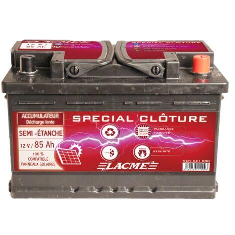 Batterie clôture 12V 85Ah - Lacmé