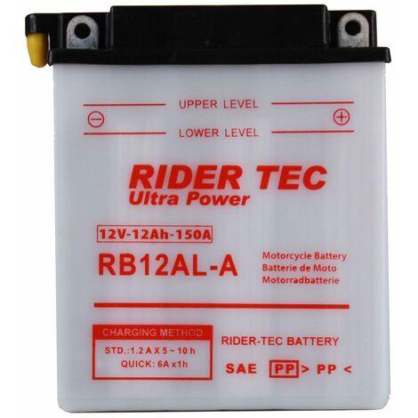 Batterie Conventionnelle 12v 12ah Rider-tec