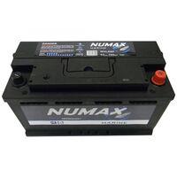 Batterie de démarrage Loisirs/Camping-cars Numax Marine L5 MVL5MF 12V 92Ah / 720A