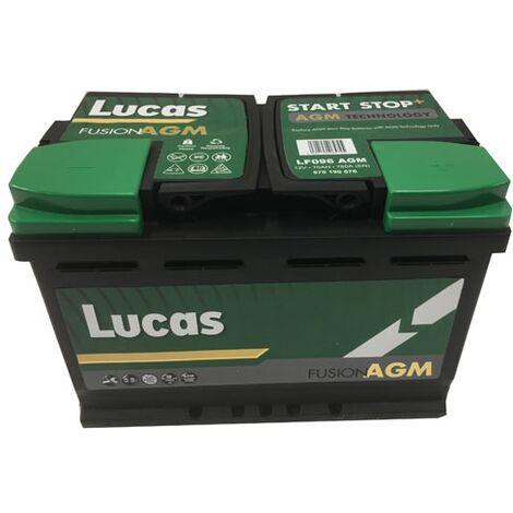Batterie de démarrage Lucas Fusion AGM L3 LF096 12V 70Ah / 760A
