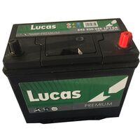 Batterie de démarrage Lucas Premium B24 LP154 12V 45Ah / 380A