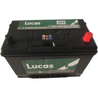 Batterie de démarrage Lucas Premium D31 LP249 12V 91Ah / 760A