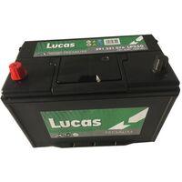 Batterie de démarrage Lucas Premium D31 LP250 12V 91Ah / 760A