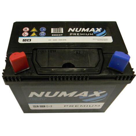 Batterie de démarrage Numax Motoculture U19 896CXT 12V 32Ah / 350A