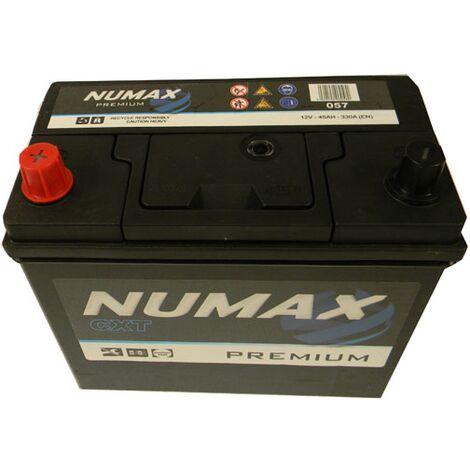 Batterie de démarrage Numax Premium B24R / BJ45G 057 12V 45Ah / 400A
