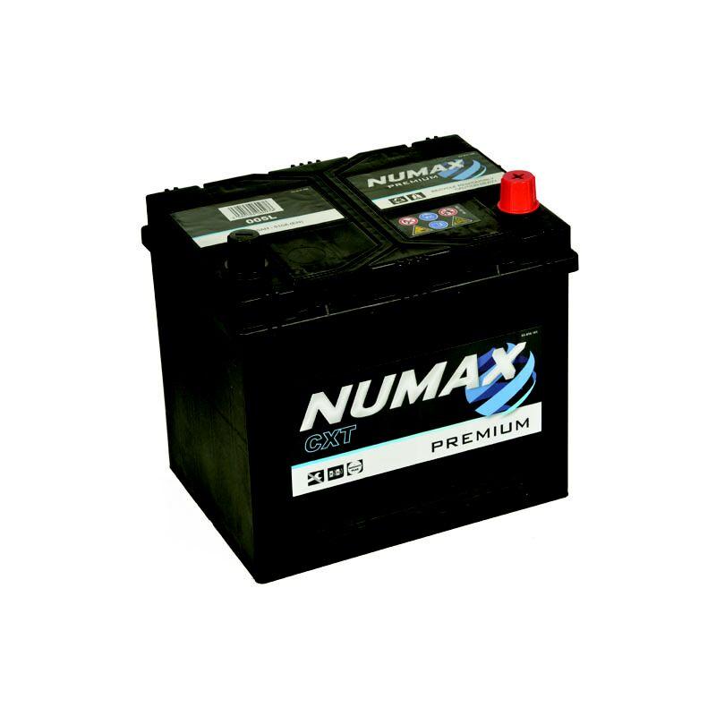 Batterie de démarrage Numax Premium D23 005L 12V 60Ah / 500A