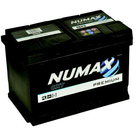 Batterie de démarrage Numax Premium L3G 096R 12V 80Ah / 680A