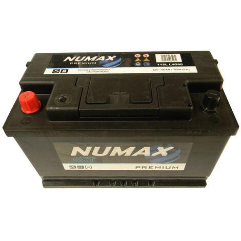 Batterie de démarrage Numax Premium L4G 115L 12V 90Ah / 700A