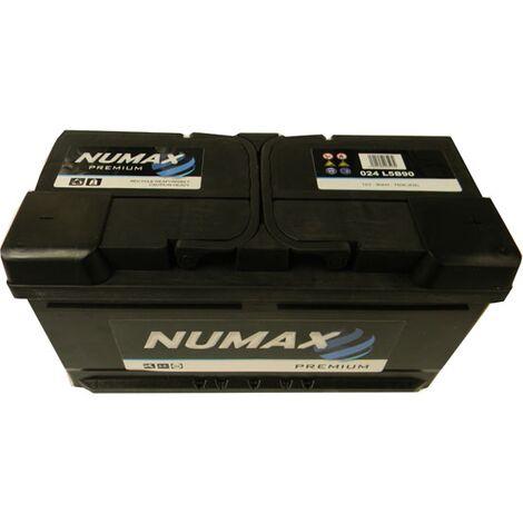 Batterie de démarrage Numax Premium LB5 024 12V 90Ah / 760A