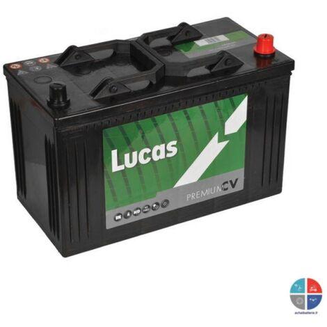 Batterie de démarrage Poids Lourds et Agricoles Lucas Premium C13D / LOT7 LP663 12V 110Ah / 750A