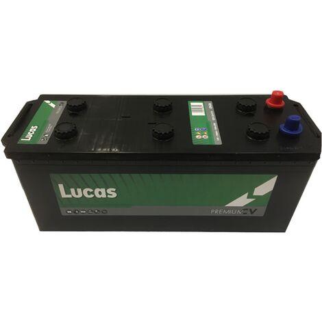 Batterie de démarrage Poids Lourds et Agricoles Lucas Premium DIN A / B14D LP636 12V 120Ah / 750A