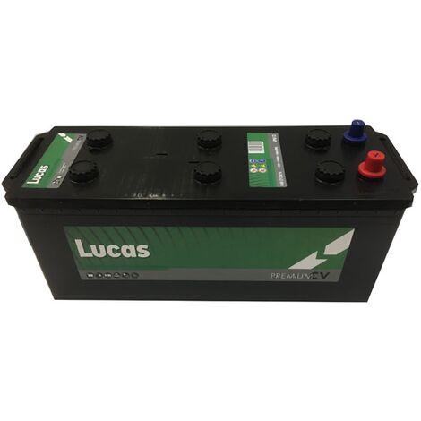 Batterie de démarrage Poids Lourds et Agricoles Lucas Premium DIN A / B14G LP612 12V 140Ah / 760A