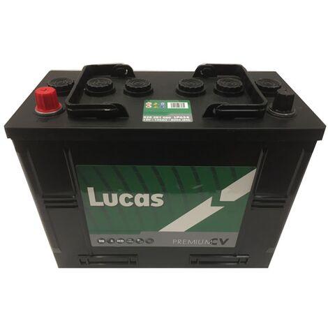 Batterie de démarrage Poids Lourds et Agricoles Lucas Premium H13G/ WOR7 LP658 12V 125Ah / 800A
