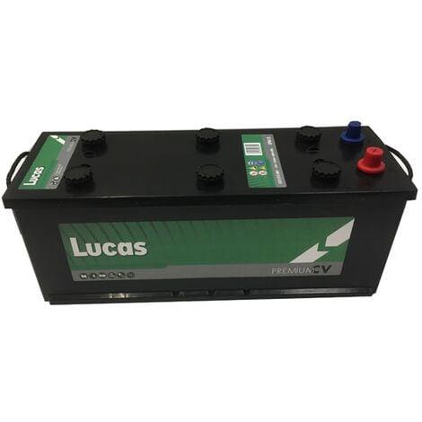 Batterie de démarrage Poids Lourds et Agricoles Lucas Premium MAC110 / D14G LP615 12V 135Ah / 850A