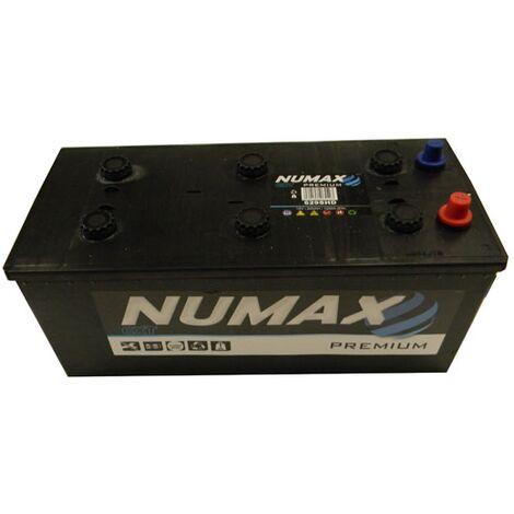 Batterie de démarrage Poids Lourds et Agricoles Numax Premium TRUCKS B15G / B 629SHD 12V 200Ah / 1200A