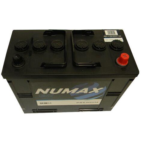 Batterie de démarrage Poids Lourds et Agricoles Numax Premium TRUCKS C13D / LOT 7 665 12V 120Ah / 850A