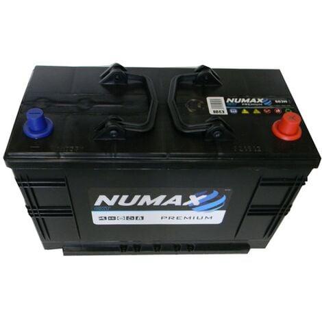 Batterie de démarrage Poids Lourds et Agricoles Numax Premium TRUCKS C13DT / LOT7 663H 12V 110Ah / 800A