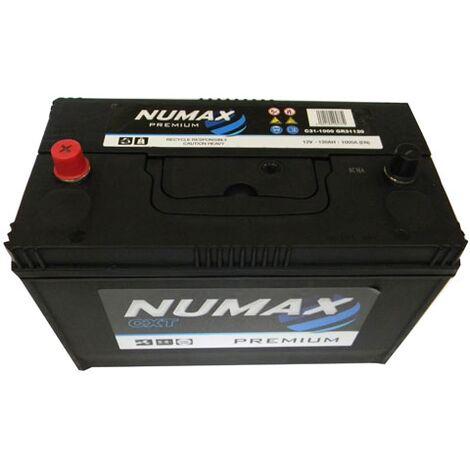 Batterie de démarrage Poids Lourds et Agricoles Numax Premium TRUCKS GR31 C31-1000 12V 120Ah / 1000A