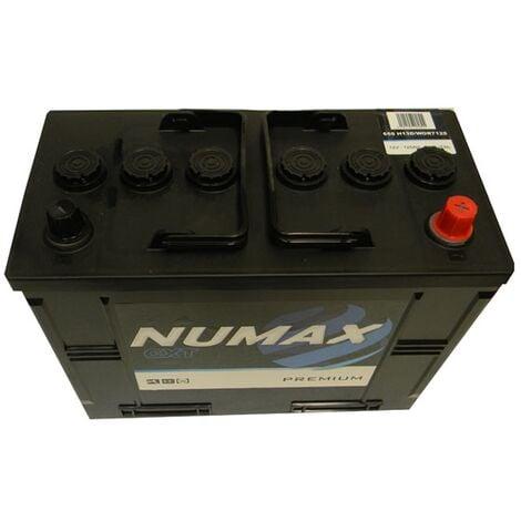 Batterie de démarrage Poids Lourds et Agricoles Numax Premium TRUCKS H13D / WOR 7 655 12V 125Ah / 800A