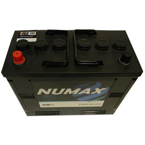 Batterie de démarrage Poids Lourds et Agricoles Numax Premium TRUCKS H13G / WOR7 656 12V 125Ah / 800A