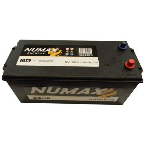 Batterie de démarrage Poids Lourds et Agricoles Numax Supreme TRUCKS B15G / B XS629UR 12V 180Ah / 1050A