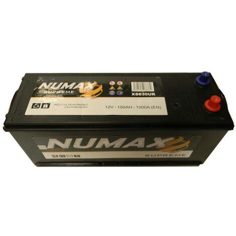 Batterie de démarrage Poids Lourds et Agricoles Numax Supreme TRUCKS D14G XS630UR 12V 150Ah / 1000A