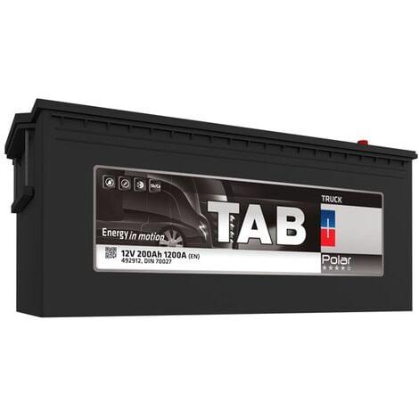 Batterie de démarrage Poids Lourds et Agricoles TAB Polar Truck M16G/ C TR20C 12V 200Ah 1200A