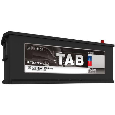 Batterie de démarrage Poids Lourds et Agricoles TAB Polar Truck MAC143 TR14M 12V 143Ah 950A
